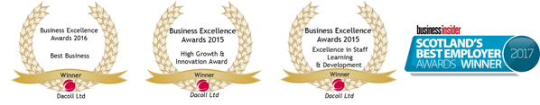 Business Insider Employer Awards West Lothian Chamber Awards