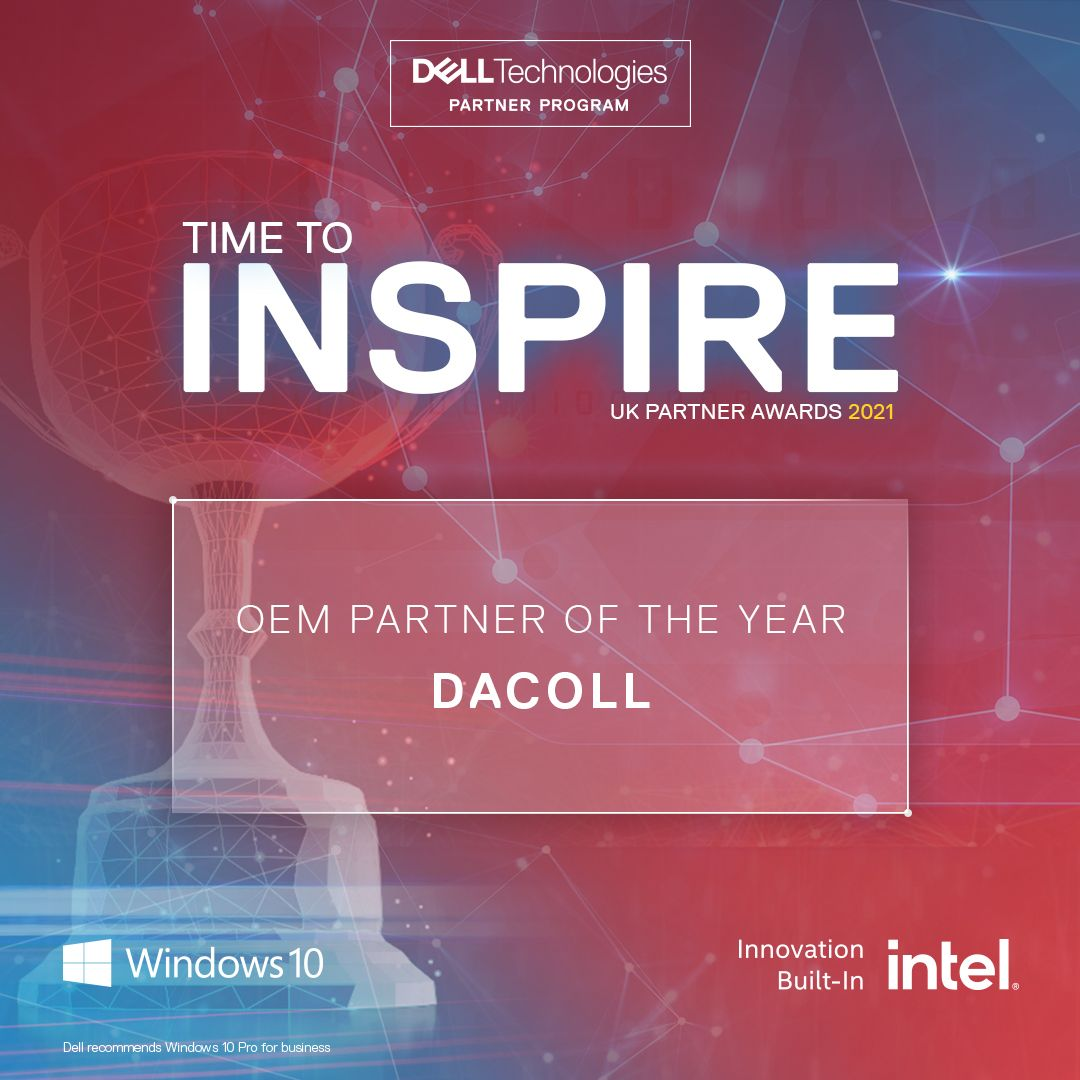 Dell Technologies Partner of the Year Dacoll